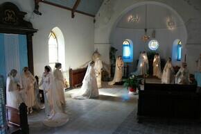 La mariée au fil du temps